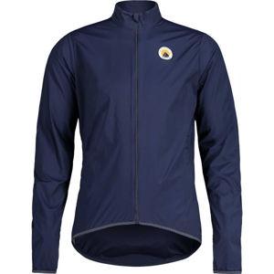 Maloja MAXM tmavě modrá M - Pánská bunda na kolo