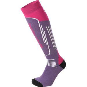 Mico SUPERTHERMO JR fialová XL - Dětské lyžařské ponožky