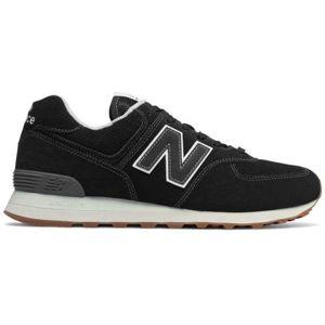 New Balance ML574ESE černá 7.5 - Pánská volnočasová obuv