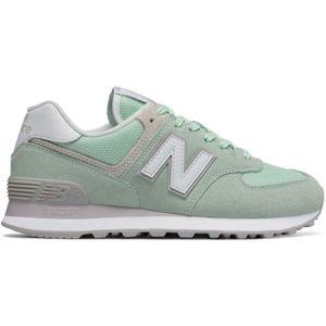New Balance WL574ESM zelená 4.5 - Dámská volnočasová obuv