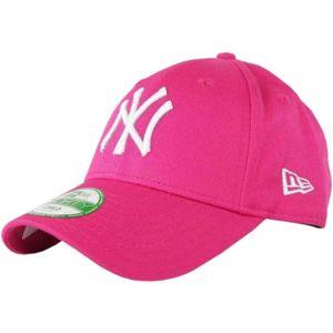 New Era 9FORTY KID MLB LEAGUE BASIC NEYYAN LS růžová  - Dívčí klubová kšiltovka