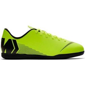 Nike JR MERCURIALX VAPOR 12 CLUB IC světle zelená 6 - Dětské sálovky