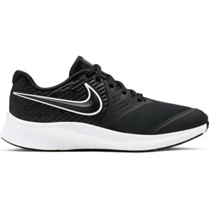 Nike STAR RUNNER 2 GS bílá 5.5 - Dětská běžecká obuv