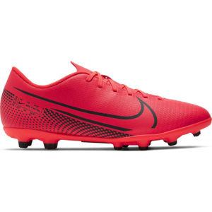 Nike MERCURIAL VAPOR 13 CLUB FG/MG červená 9 - Pánské kopačky