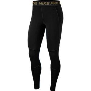 Nike NP FIERCE 7/8 TIGHT černá S - Dámské legíny