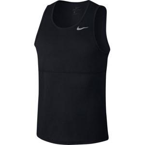 Nike BREATHE černá S - Pánské běžecké tílko