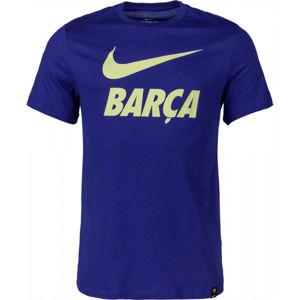 Nike FC BARCELONA TEE SNR  XL - Pánské fotbalové tričko