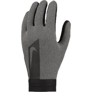 Nike HYPERWARM ACADEMY tmavě šedá XL - Pánské fotbalové rukavice