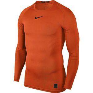 Nike PRO TOP oranžová 2xl - Pánské triko
