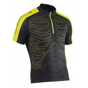 Northwave SKELETON JERSEY černá 2xl - Cyklistický dres
