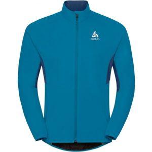 Odlo MEN'S JACKET AEOLUS ELEMENT modrá S - Pánská sportovní bunda
