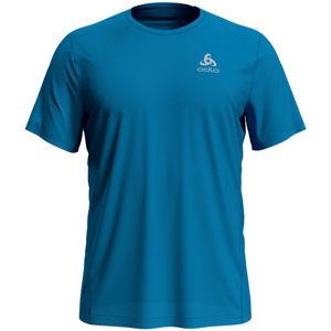 Odlo T-SHIRT S/S CREW NECK ELEMENT LIGHT modrá L - Pánské tričko
