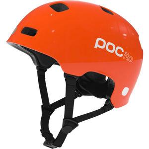 POC POCITO CRANE oranžová (51 - 54) - Dětská cyklistická helma
