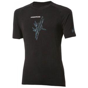 Progress E NKR černá L - Pánské tričko