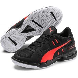 Puma AURIZ JR černá 5 - Juniorská volejbalová obuv