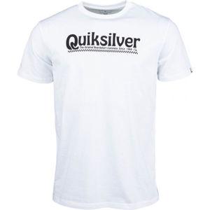 Quiksilver NEW SLANG SS bílá XXL - Pánské tričko
