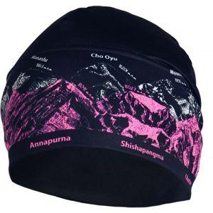 R-JET UNI OUTDOOR ČEPICE HORY růžová UNI - Funkční sportovní čepice