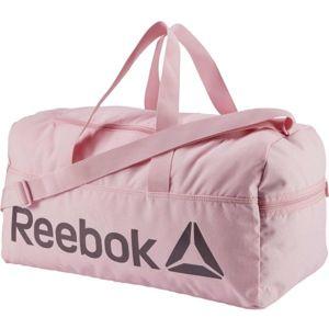 Reebok ACTIVE CORE M GRIP růžová M - Univerzální taška