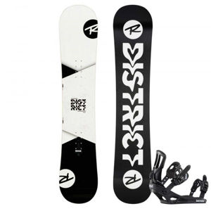 Rossignol DISTRICT WIDE + BATTLE XL  161 - Pánský snowboard set