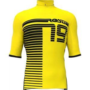 Rosti XC žlutá 3XL - Pánský cyklistický dres