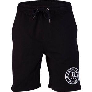 Russell Athletic ROSETTE PRINTED SHORT černá S - Pánské šortky