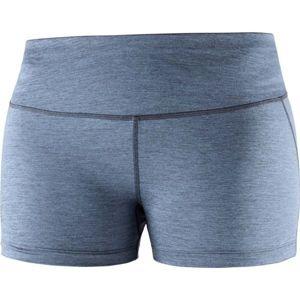 Salomon AGILE SHORT TIGHT W modrá S - Dámské běžecké šortky