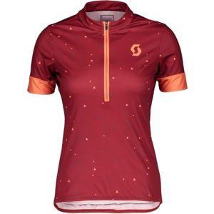Scott ENDURANCE 20 S/SL W červená XL - Dámský dres