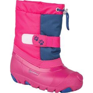 Spirale CERRO růžová 28 - Dívčí zimní obuv