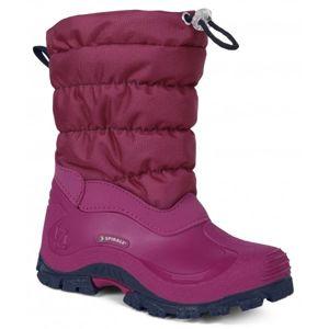 Spirale COLORADO růžová 31 - Dětská zimní obuv