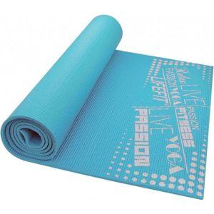 SPORT TEAM LIFEFIT SLIMFIT PLUS modrá NS - Gymnastická podložka