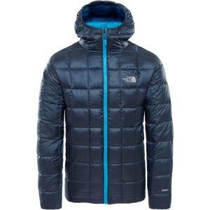 The North Face KABRU HD DOWN JACKET M tmavě modrá L - Pánská zateplená bunda