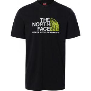 The North Face M S/S RUST 2 TEE  2XL - Pánské tričko s krátkým rukávem