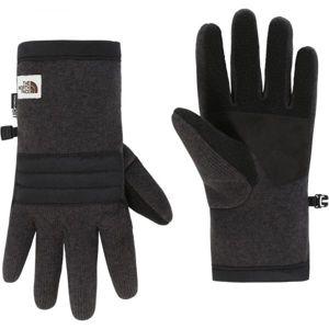 The North Face GORDON ETIP GLOVE M tmavě šedá L - Pánské rukavice