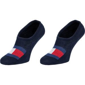 Tommy Hilfiger MEN FOOTIE 2P FLAG  43/46 - Pánské ponožky