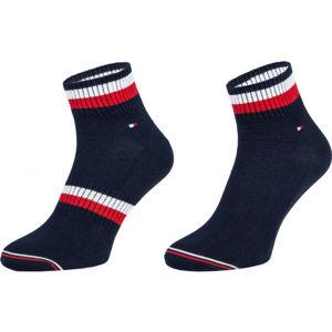 Tommy Hilfiger MEN QUARTER 2P PETE  39/42 - Pánské ponožky