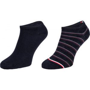 Tommy Hilfiger WOMEN SNEAKER 2P PREPPY  35/38 - Dámské ponožky