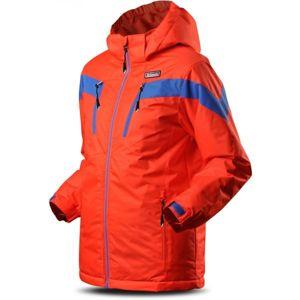 TRIMM SATO oranžová 116 - Chlapecká lyžařská bunda
