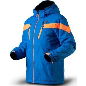 TRIMM SATO modrá 128 - Chlapecká lyžařská bunda