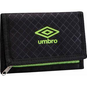 Umbro UX ACCURO WALLET zelená UNI - Peněženka