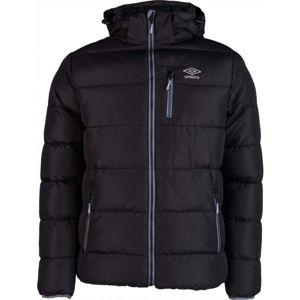 Umbro HANK černá XXL - Pánská prošívaná bunda