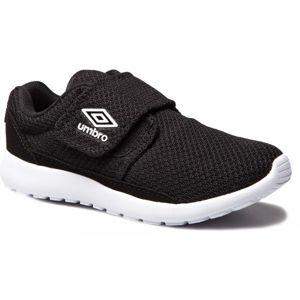 Umbro SHERRATT JNR černá 2.5 - Dětská volnočasová obuv