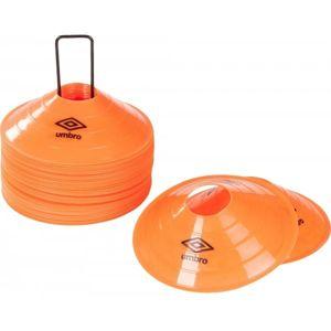 Umbro 2 HIGH FIELD MARKER CONES oranžová  - Vytyčovací mety