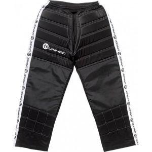 Unihoc GOALIE PANTS BLOCKER JR černá 150 - Dětské kalhoty pro gólmany