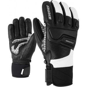 Ziener GISOR AS černá 8.5 - Pánské rukavice