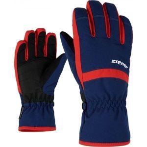 Ziener LEJANO AS JR tmavě modrá 5 - Dětské rukavice