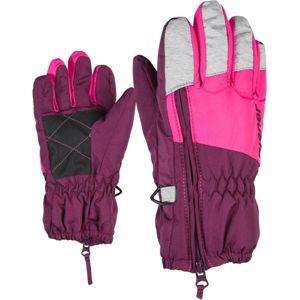 Ziener LUDO MINIS fialová 3 - Dětské rukavice